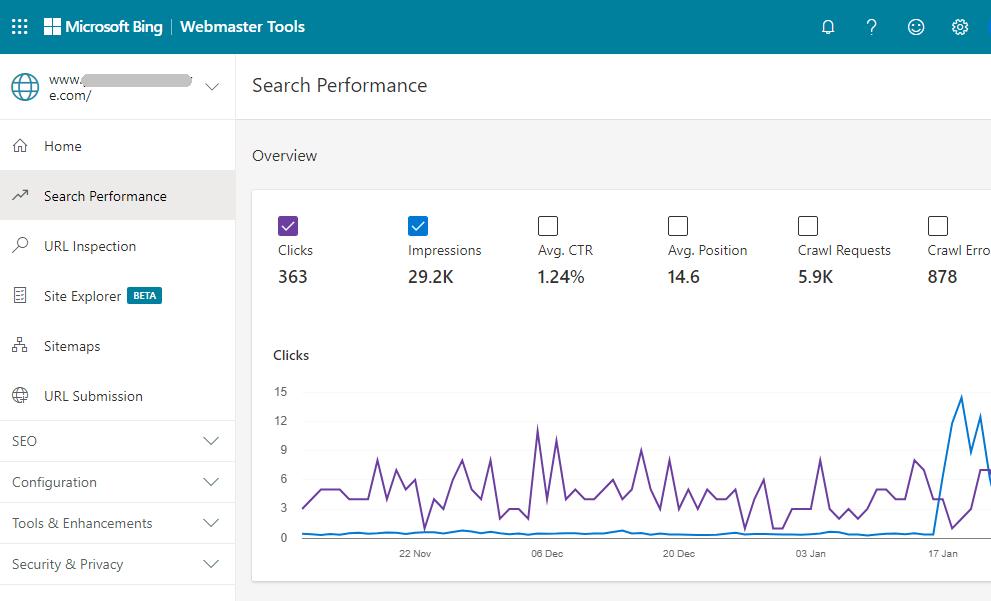 Como enviar su sitio web a Bing Webmaster Tools