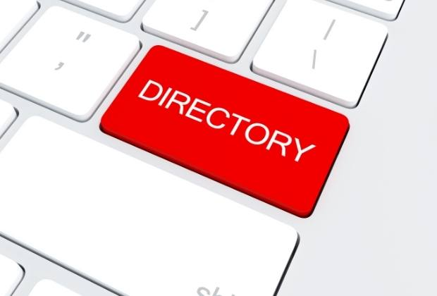 enlaces desde directorios
